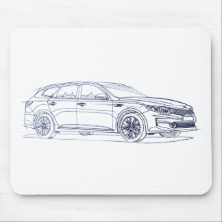 Kia Optima SportWgn 2017 Mouse Pad