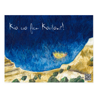 Kia ora from Karitane! Postcard