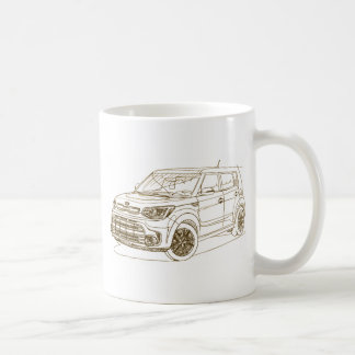 Kia Soul Turbo 2017 Coffee Mug