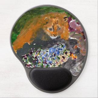 Kia the cat round mousepad