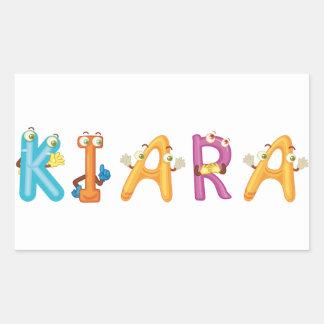 Kiara Sticker