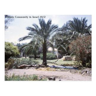 Kibbutz Community in Israel Postcard