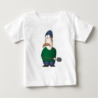 """Kibbutz Man (""""Kibbutznick"""") Baby T-Shirt"""