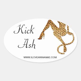 Kick Ash Sticker