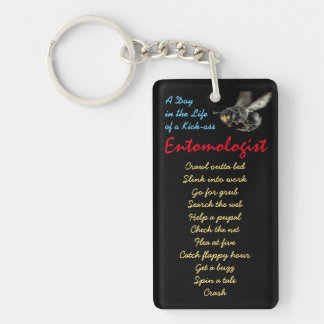Kick-ass Entomologist Keychain by RoseWrites