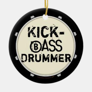 Kick Bass Drummer Funny Bass Drum Ornament