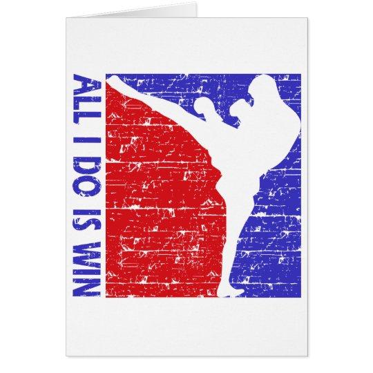 kick-boxing card