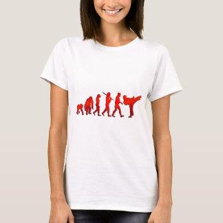 Kick boxing Mixed Martial Arts Artists Evolution T-Shirt