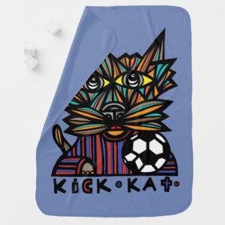 """Kick Kat"" Baby Blanket"