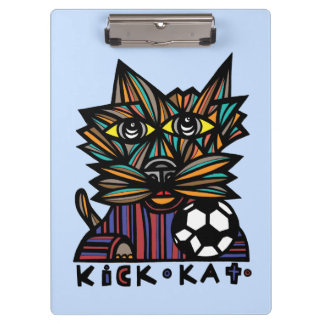 """Kick Kat"" Clipboard"