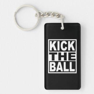 Kick the Ball Key Ring