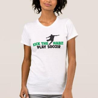 Kick The Habit Play Soccer 2 Micro-Fiber Singlet Tee Shirt