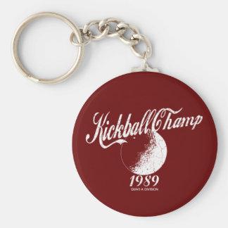 Kickball Champ Key Ring