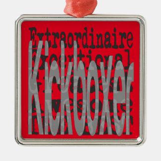Kickboxer Extraordinaire Metal Ornament