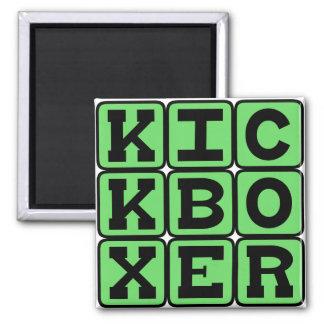 Kickboxer, Martial Arts Fighter Magnet