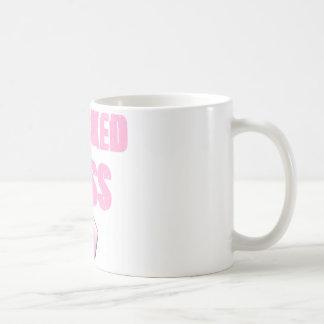 kicked Butt Breast Cancer Survivor Basic White Mug