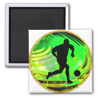 Kicking Balls in Green and Gold Magnets