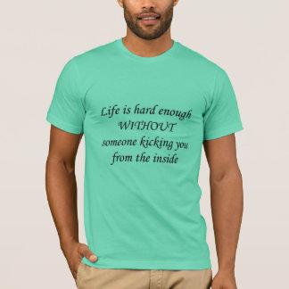 Kicking Inside T-Shirt