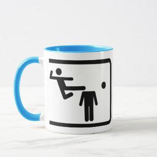 Kicking The Head Off The Neck Mug