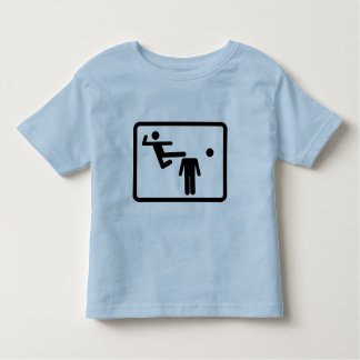 Kicking The Head Off The Neck Toddler T-Shirt