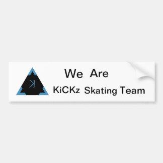 KiCKz.S.T. First Bumper Sticker