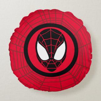 Kid Arachnid Icon Round Cushion
