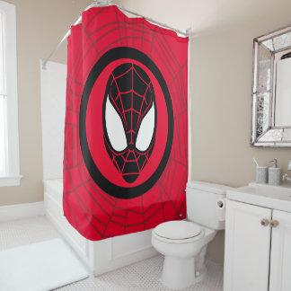Kid Arachnid Icon Shower Curtain