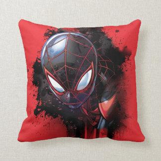 Kid Arachnid Ink Splatter Cushion