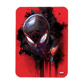 Kid Arachnid Ink Splatter Magnet