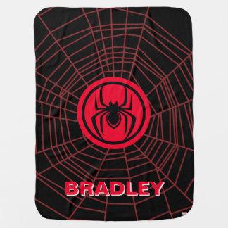 Kid Arachnid Logo Baby Blanket