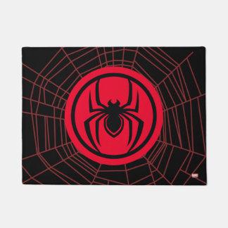 Kid Arachnid Logo Doormat