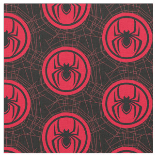 Kid Arachnid Logo Fabric