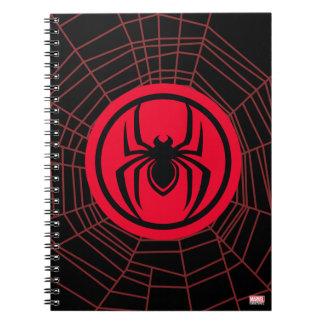 Kid Arachnid Logo Notebooks