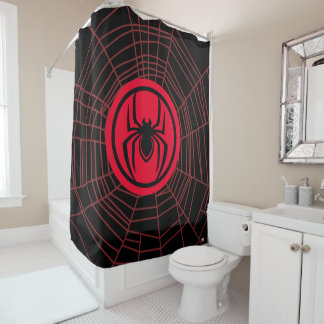 Kid Arachnid Logo Shower Curtain