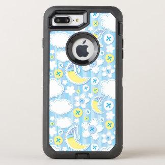 kid background OtterBox defender iPhone 8 plus/7 plus case