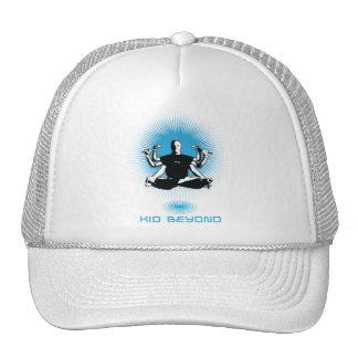 kid beyond logo hat