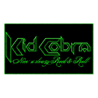 Kid Cobra Business Card