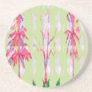KID Collection - Trees, Flowers, Stars, Shapes Sandstone Coaster