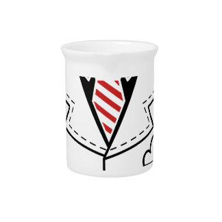 Kid cool tie design pitcher