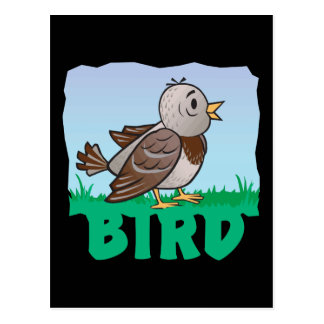Kid Friendly Bird Postcard