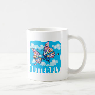 Kid Friendly Butterfly Coffee Mug