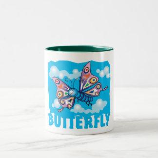 Kid Friendly Butterfly Coffee Mugs