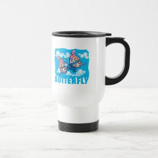 Kid Friendly Butterfly Mugs