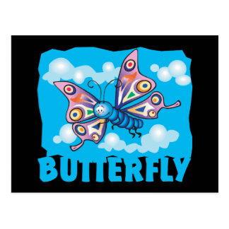 Kid Friendly Butterfly Postcard