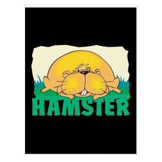 Kid Friendly Hamster Postcard