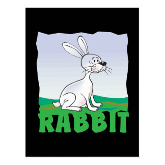 Kid Friendly Rabbit Postcard