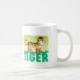 Kid Friendly Tiger Coffee Mug