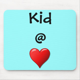Kid @ Heart Mouse Pad
