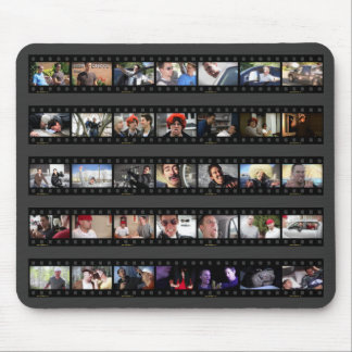 Kid History Filmstrips Mouse Pad