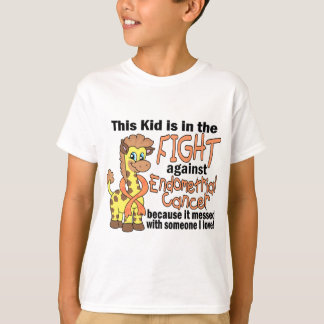 Kid In The Fight Against Endometrial Cancer T-Shirt